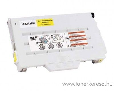 Lexmark Toner 15W0902 yellow