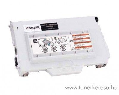 Lexmark Toner 15W0903 fekete Lexmark Optra Color C720 lézernyomtatóhoz