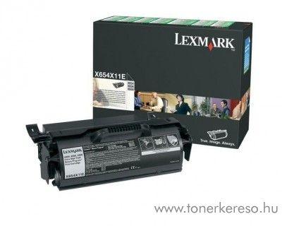 Lexmark Toner X654X11E Lexmark X658dtme MFP lézernyomtatóhoz