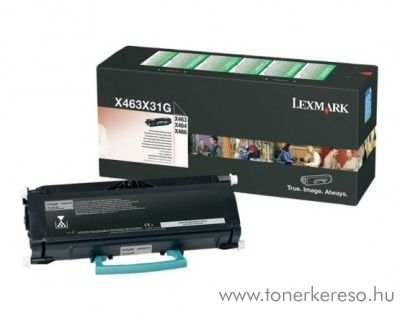 Lexmark X463/X464/X466 eredeti black toner X463X31G