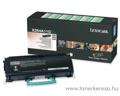 Lexmark X46X eredeti black toner X463A11G