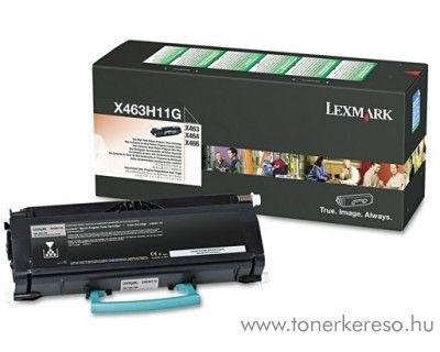 Lexmark X46X eredeti black toner X463H11G Lexmark X463de lézernyomtatóhoz