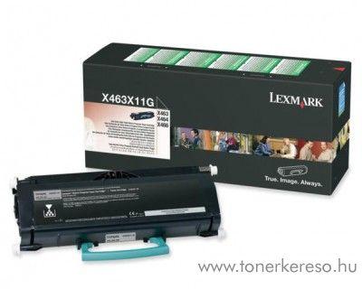 Lexmark X46X eredeti black toner X463X11G Lexmark X463de lézernyomtatóhoz