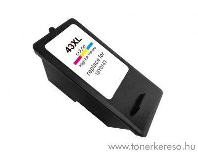 Lexmark X4850/X6575 utángyártott színes tintapatron OBL43 Lexmark X9350 tintasugaras nyomtatóhoz