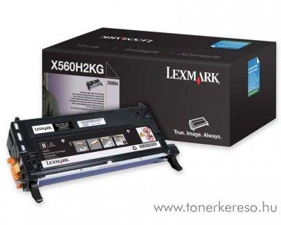 Lexmark X560 eredeti fekete black toner X560H2KG Lexmark X560dn lézernyomtatóhoz