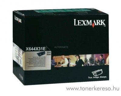 Lexmark X644e/X646e eredeti black toner X644X31E