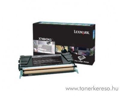 Lexmark X746/748 eredeti nagykap. fekete toner X746H3KG Lexmark X748de lézernyomtatóhoz