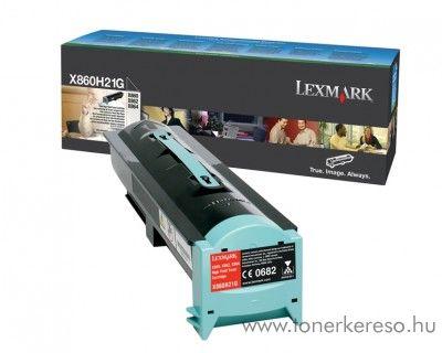 Lexmark X860/862/864 eredeti black toner X860H21G Lexmark X864de 4 lézernyomtatóhoz