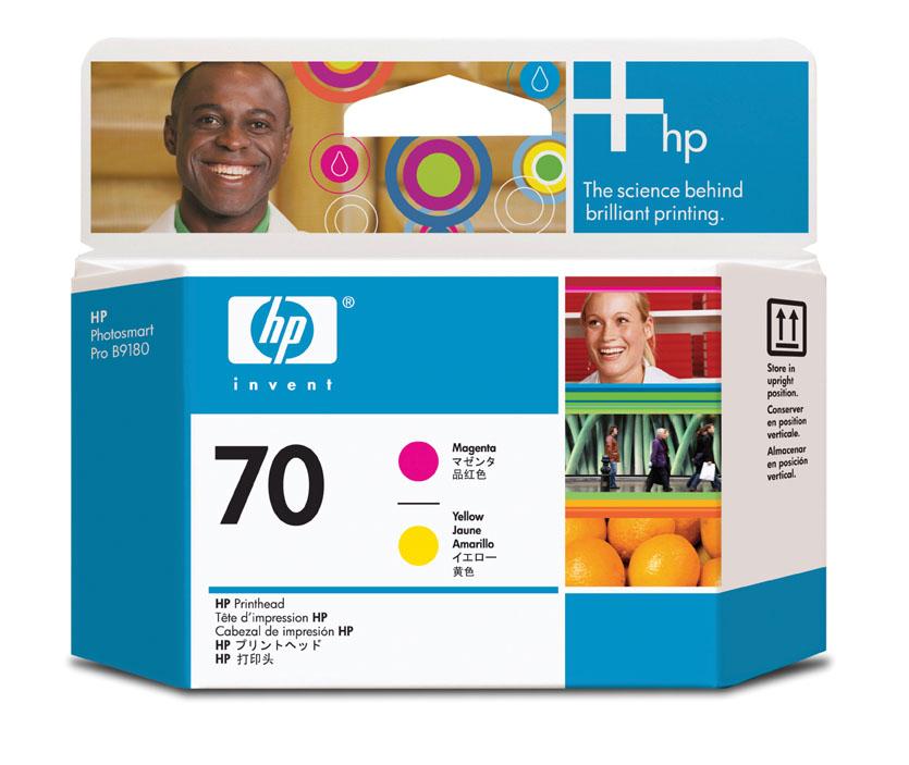 HP C9406A (No. 70) Magenta / Yellow nyomtatófej HP Designjet Z3100 tintasugaras nyomtatóhoz