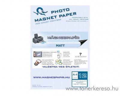 Mágnespapír matt A4 12db-os csomag