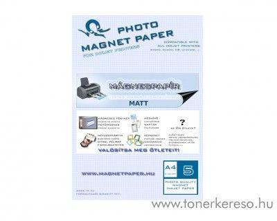 Mágnespapír matt A4 5db-os csomag