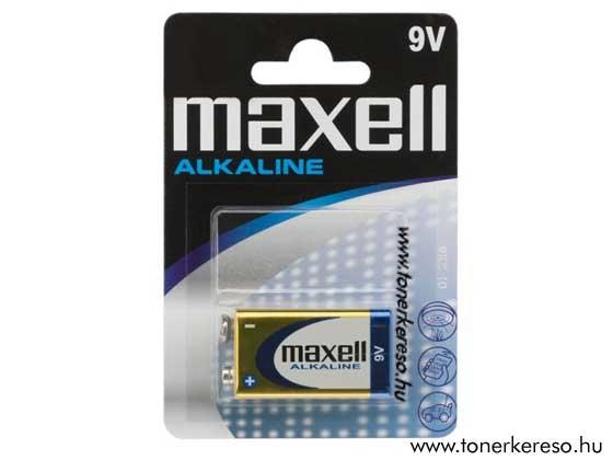 9V-os elem 6LR61 MAXELL