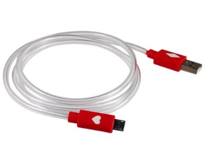 Micro USB –USB adatkábel és/vagy töltőkábel Piros LED fény