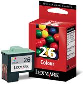 Lexmark tintapatron 10N0026  Lexmark X1270 tintasugaras nyomtatóhoz