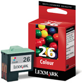 Lexmark tintapatron 10N0026 Lexmark Z23 tintasugaras nyomtatóhoz