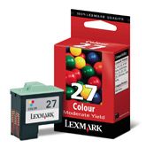 Lexmark tintapatron 10NX0227 Lexmark Z23 tintasugaras nyomtatóhoz
