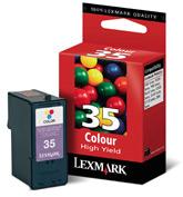 Lexmark tintapatron 18C0035 Lexmark X7170 tintasugaras nyomtatóhoz