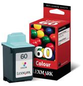 Lexmark tintapatron 17G0060 Lexmark Color JetPrinter Z-22 tintasugaras nyomtatóhoz