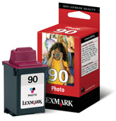 Lexmark tintapatron 12A1990 Lexmark Color Jetprinter 5000 tintasugaras nyomtatóhoz