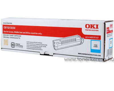 Oki 44059107 toner cyan (C810) Oki C830n lézernyomtatóhoz