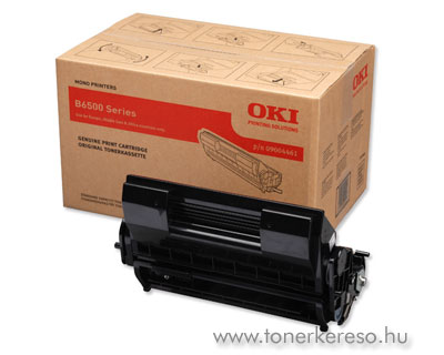 Oki 9004461 toner fekete (B6500)