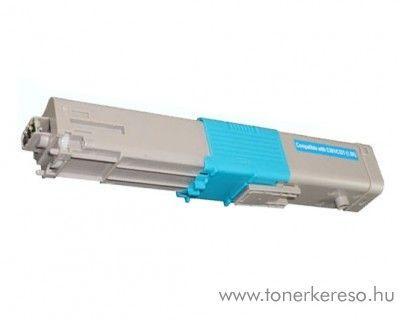 Oki C301/C321 utángyártott cyan toner SP