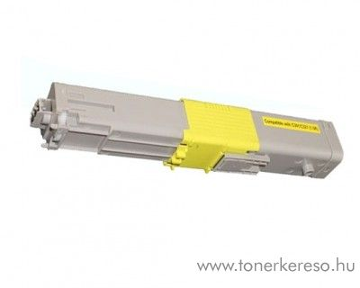 Oki C301/C321 utángyártott yellow toner SP