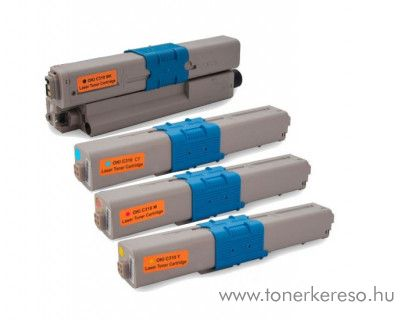 Oki C310/330/510/530 utángyártott BKCMY toner csomag GGOC310MP4 Oki MC561dn lézernyomtatóhoz