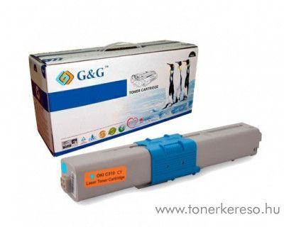 Oki C310/330/510/530 utángyártott cyan toner GGOC310C Oki C530dn lézernyomtatóhoz