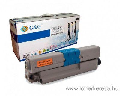 Oki C310/330/510/530 utángyártott fekete toner GGOC310B Oki C530dn lézernyomtatóhoz
