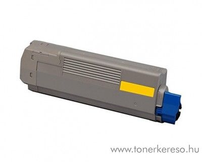 Oki C610/C610dn utángyártott yellow toner CWO44315305 Oki C610dn lézernyomtatóhoz