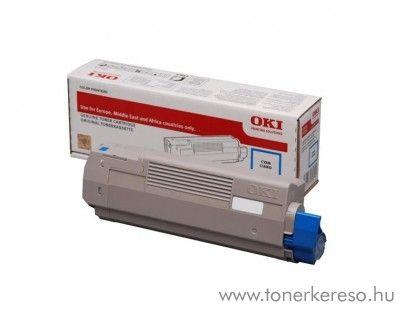 Oki C612n/C612dn eredeti cyan toner 46507507 Oki C612DN lézernyomtatóhoz
