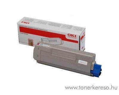 Oki C612n/C612dn eredeti magenta toner 46507506 Oki C612N lézernyomtatóhoz