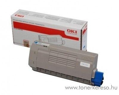 Oki C711WT eredeti fehér white toner 44318657 Oki C711WT lézernyomtatóhoz