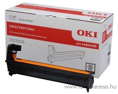 Oki C822/C831/C841 eredeti fekete black drum 44844408 Oki C822N lézernyomtatóhoz