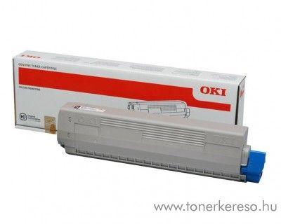 Oki C823/C833/C843 eredeti black toner 46471104 Oki C833dn lézernyomtatóhoz