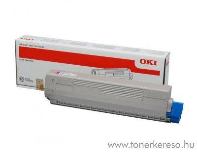 Oki C823/C833/C843 eredeti magenta toner 46471102 Oki C833dn lézernyomtatóhoz