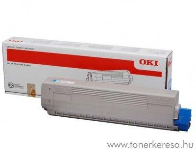 Oki C831/C841 eredeti cyan toner 44844507 Oki C831 lézernyomtatóhoz