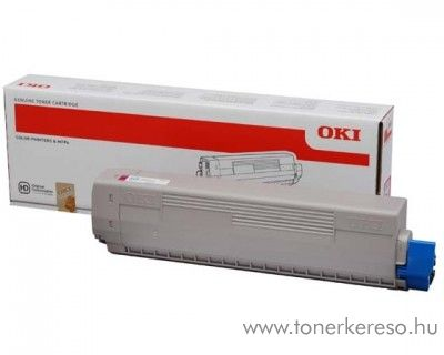 Oki C831/C841 eredeti magenta toner 44844506
