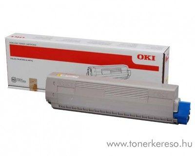 Oki C831/C841 eredeti yellow toner 44844505 Oki C841 lézernyomtatóhoz