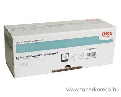 Oki ES5431/ES3452/ES5462 eredeti black toner 44973512 OKI ES5462  lézernyomtatóhoz
