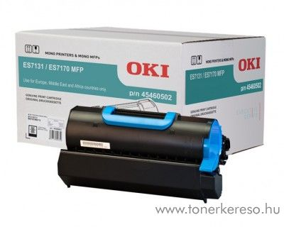 Oki ES7131/ES7170 eredeti black toner 45460502 OKI ES7131 lézernyomtatóhoz