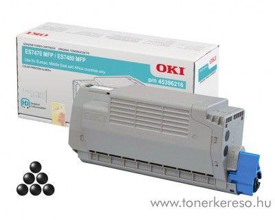 Oki ES7470/ES7480 eredeti black toner 45396216 OKI ES7480dfn  lézernyomtatóhoz