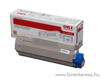 Oki MC760/770/780 eredeti cyan toner 45396303