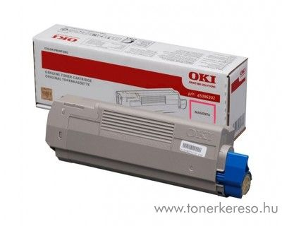 Oki MC760/770/780 eredeti magenta toner 45396302 Oki MC760 lézernyomtatóhoz