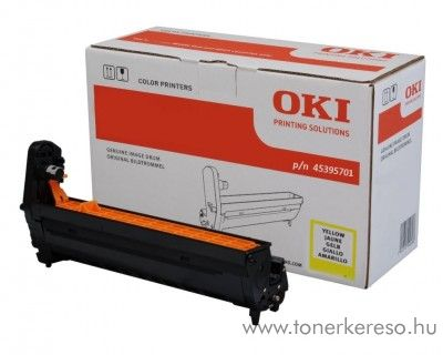 Oki MC760/770/780 eredeti yellow drum 45395701