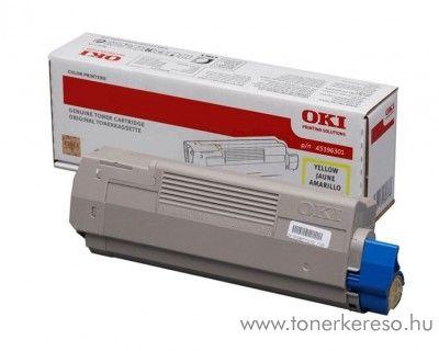 Oki MC760/770/780 eredeti yellow toner 45396301 Oki MC770 lézernyomtatóhoz