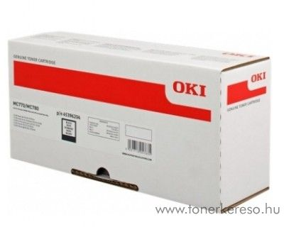 Oki MC770/780 eredeti fekete black toner 45396204 Oki MC770 lézernyomtatóhoz