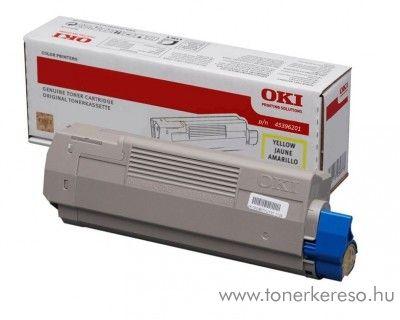 Oki MC770/780 eredeti yellow toner 45396201 Oki MC780 lézernyomtatóhoz