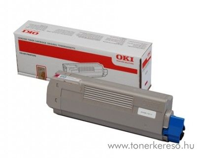 Oki MC851/861M eredeti magenta toner 44059166 Oki MC851DN lézernyomtatóhoz